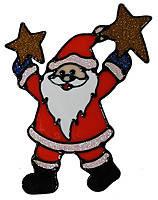 """Наклейка новорічна """"Дід Мороз"""" 20х19см 90676-PN ПІОНЕR"""