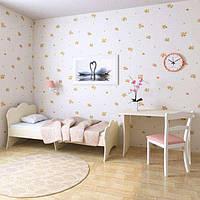 """Подростковая детская кровать """" Адель"""" 80х190 (ваниль)"""
