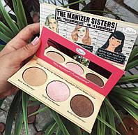 Палетка хайлайтеров The Balm The Manizer Sisters реплика