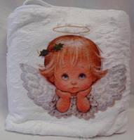 Теплое полотенце для крещения