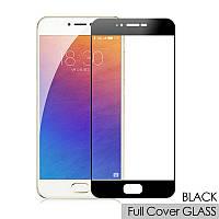 Защитное стекло Full screen Meizu Pro 6 (Black), фото 1