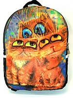 Джинсовый Рюкзак Три цвета глаз, фото 1