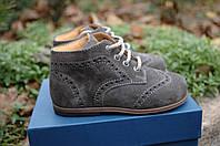 Ботинки замшевые Zecchino d'Oro, фото 1