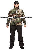 """Куртка тактическая, непромокаемая Mil-tec Softshell """"Camo"""" р """"S"""", фото 1"""