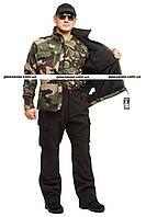 """Куртка тактическая,универсальная Mil-tec Softshell """"Camo"""" р """"XXL"""", фото 1"""