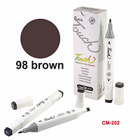 Водостойкая подводка-маркер для бровей Brown-98