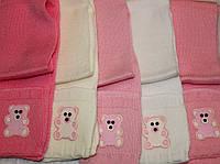 Вязаные шарфики с кармашками. Акрил