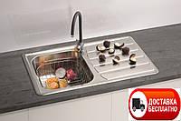 Кухонная мойка Alveus Zoom 20 I сатин 79*50 см