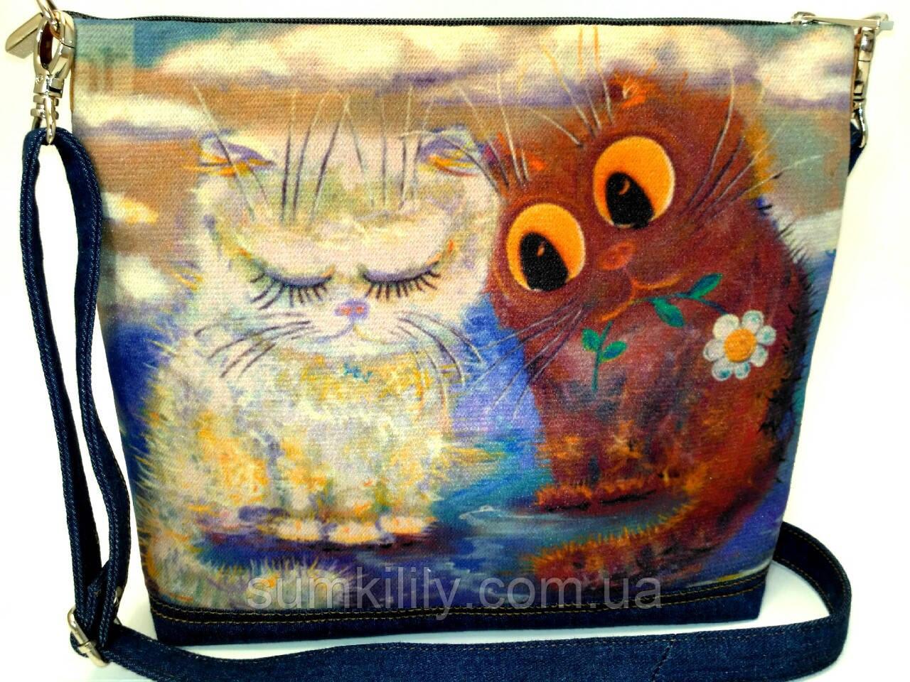 Джинсовая сумочка На свидании