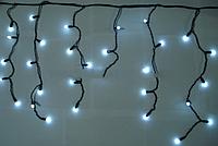 Бахрома уличная 3м*0,5м белый (холодный) n-10 (матовая лампочка)