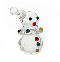 Статуэтка хрустальная Снеговик