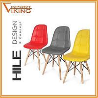 Кресло для дома и офиса HILE красный цвет