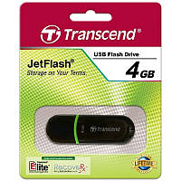 USB-Флешка 4Gb Transcend JetFlash 300 black (USB 2.0)