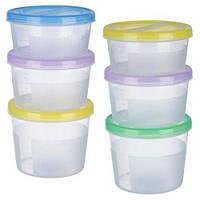 Набор контейнеров для продуктов 3 в 1 500мл/700мл/1,1л