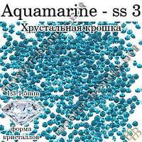 Камни Pixie Aquamarine 100 шт № 3  Master-Beauty