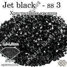 Камни Pixie Jet black 100 шт № 3  Master-Beauty