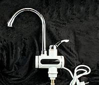 Бойлер с Электронным таблом №1,Электрический проточный водонагреватель с электронным табло,Бойлер кран