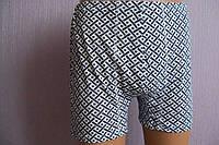 Трусы мужские шортами рисунок крупная плетенка р.44