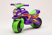 Беговел Active Baby Sport музыкальный Зелено-фиолетовый