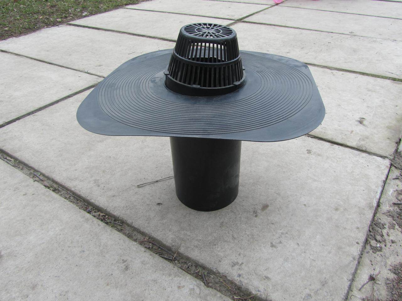 Воронка под рубероид 125 мм (колпак)