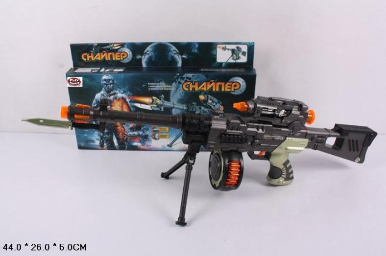 Детский автомат Снайпер.Игрушка оружие. Игрушка для мальчиков.