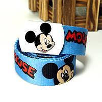 Холстовый ремень для модника Mickey Mouse