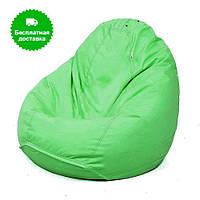 Мягкое кресло мешок салатовое размер XXL