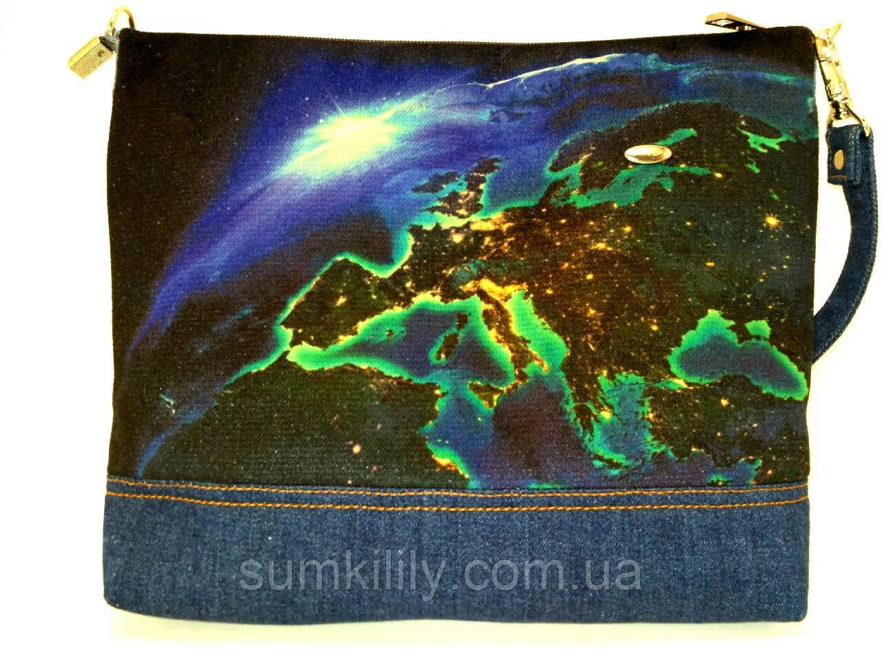 Женская сумочка Земля