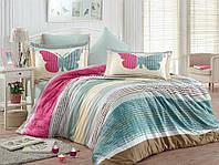 Комплект постельного белья 200х220 HOBBY Exclusive Sateen Nicoletta розовый