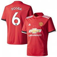 Футбольная форма Манчестер Юнайтед Погба (Manchester United Pogba) 2017-2018 домашняя