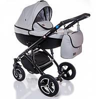 Детская коляска универсальная 2 в 1 Broco Infinity grey (Броко Инфинити, Польша)