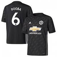 Футбольная форма Манчестер Юнайтед Погба (Manchester United Pogba) 2017-2018 Выездная