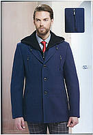 """Короткое мужское пальто """"Pierre Carlos"""" с капюшоном,Турция"""