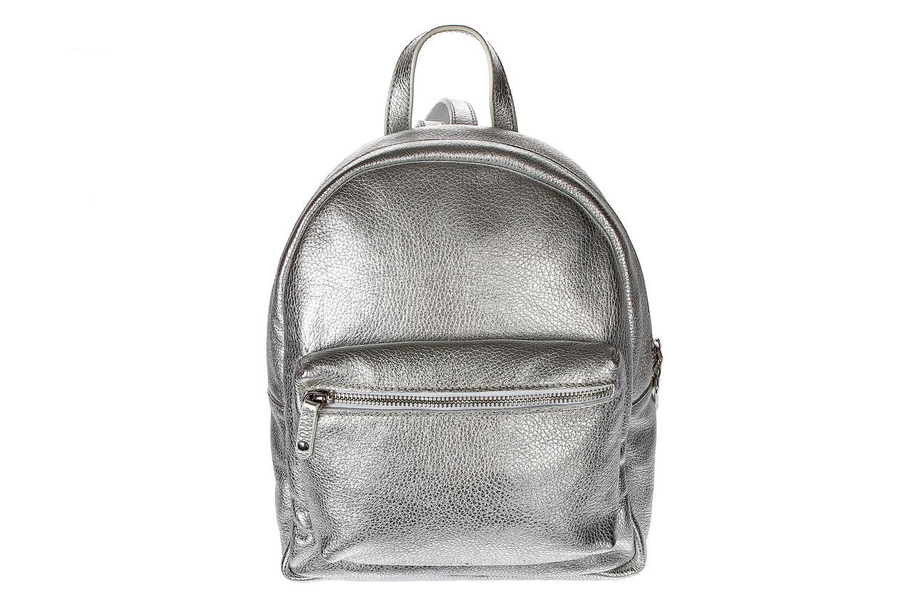 Рюкзак женский, серебро