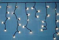 Бахрома уличная 3м*0,5м белый (теплый) n-12 (матовая лампочка)