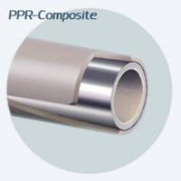 Полипропиленовая труба EVCI Composite Pipe PN20/32 алюминий