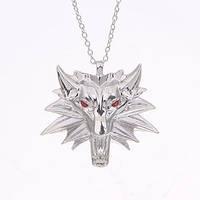 Медальон Ведьмак серебро