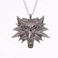 Медальон Ведьмак сталь