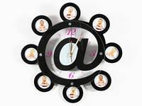 Часы настенные из дерева Интернет
