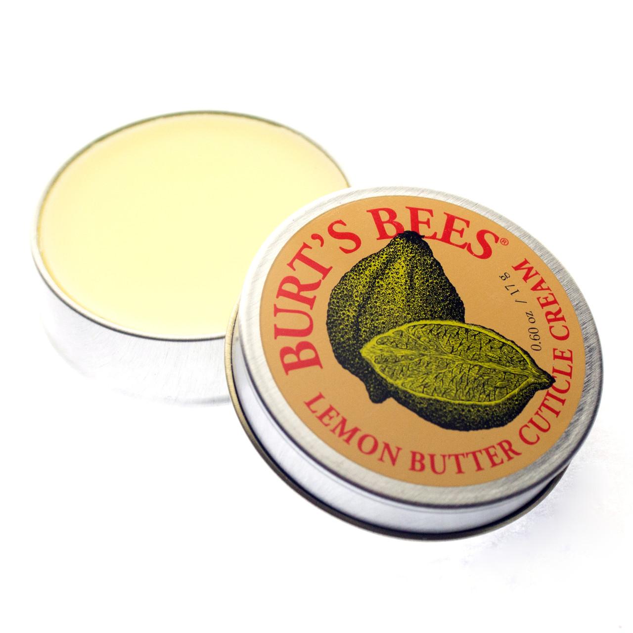 Крем для кутикулы лимонный Burt's Bees Lemon Butter Cuticle Cream