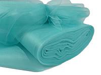 Ткань Фатин средней жесткости Голубая мята