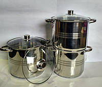 Набор кухонной посуды Rainstahl RS 2302-06 6 пр.