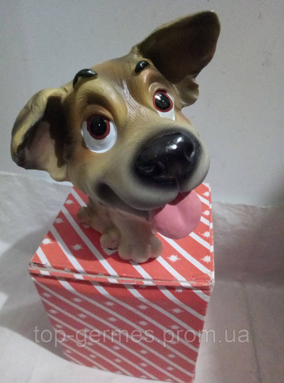 Прикольные копилки в виде собачки-отличный подарок на Новый Год