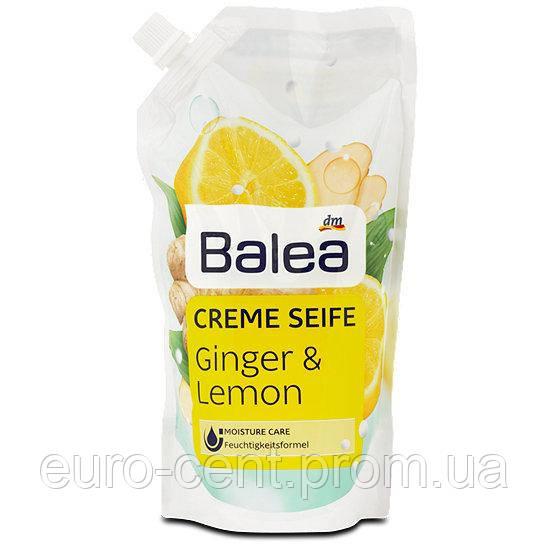 Жидкое крем-мыло имбирь-лимон (запаска) Balea Creme seife Ginger&Lemon 500 мл