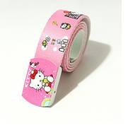Холстовый ремень для модницы Hello Kitty