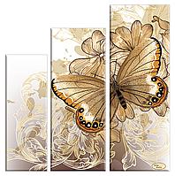 Набор схем для вышивки бисером Бархатные крылья