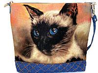 Женская сумочка Сиам Голубоглазик, фото 1