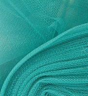 Ткань Фатин средней жесткости Зеленая бирюза
