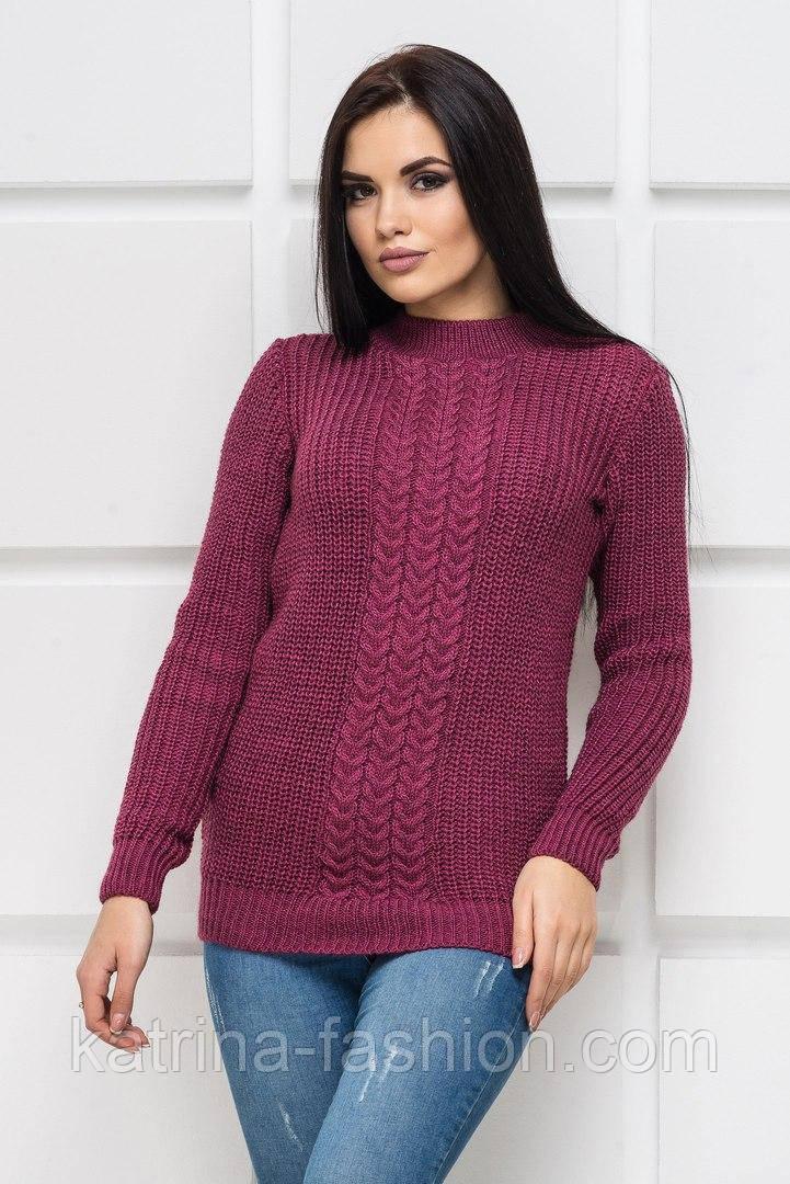 Женский модный теплый свитер с шерстью (8 цветов)