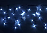 Бахрома уличная 3м*0,5м белый холодный (прозрачная лампочка)